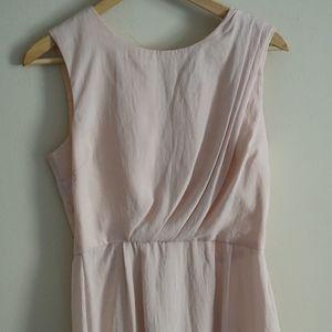Top Shop blush pink dress